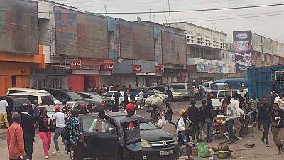 At least two killed, six injured in Kinshasa market raid