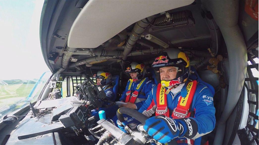 İpek Yolu Rallis'inde 7. etap sonunda Sebastien Loeb lider