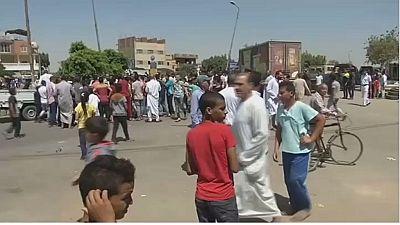 Gunmen kill five Egyptian police south of Cairo