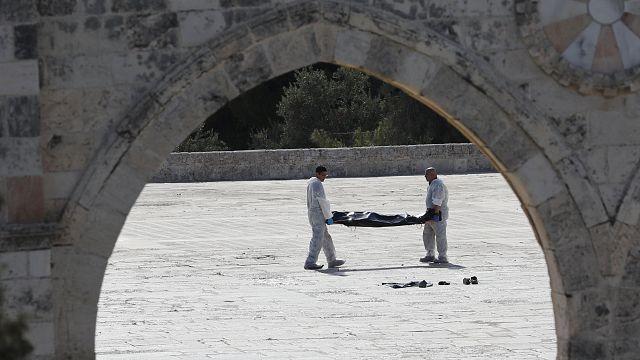 Теракт у Храмовой горы в Иерусалиме