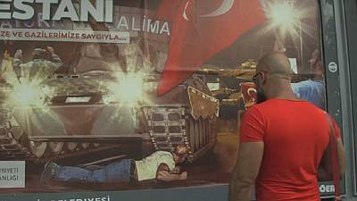 Turkey marks one year since failed coup