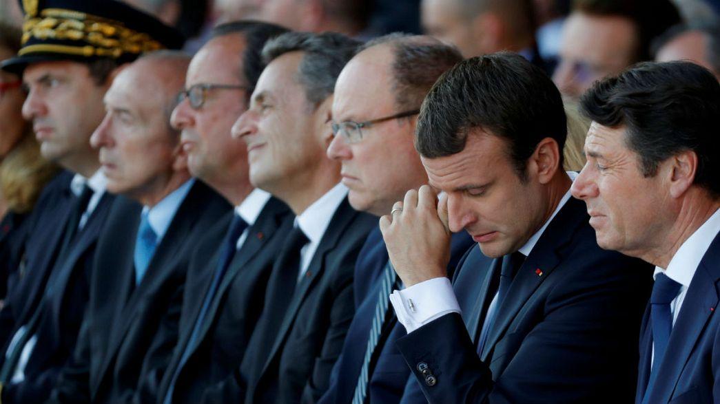 """إيمانويل ماكرون:"""" 14 يوليو 2016 ذكّرنا بثمن الحرية"""""""