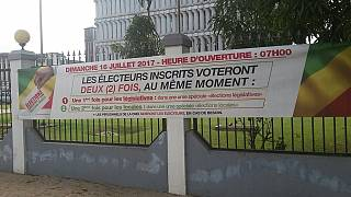 [Photos] Congo - Pointe Noire awash with campaign material ahead of June 16 polls