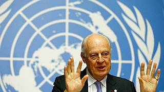 """دي مسيتورا:""""لا توجد مؤشرات على استعداد النظام السوري لمناقشة تشكيل حكومة جديدة"""""""