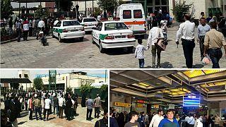 درگیری و تیراندازی پلیس در متروی شهرری