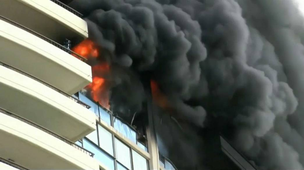 At least 3 dead, 12 injured in Hawaii tower block blaze