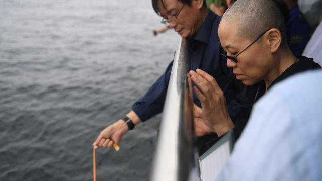 The funeral of imprisoned Nobel Peace Prize laureate Liu Xiaobo has taken place in China