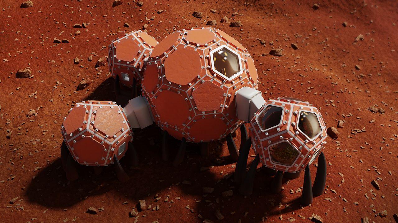 Home sweet home, Mars style?