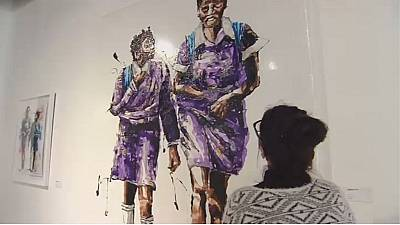 South African artist brings plastic to life through art