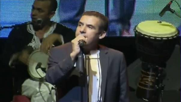 الشاب مامي مسك ختام مهرجان تيمقاد