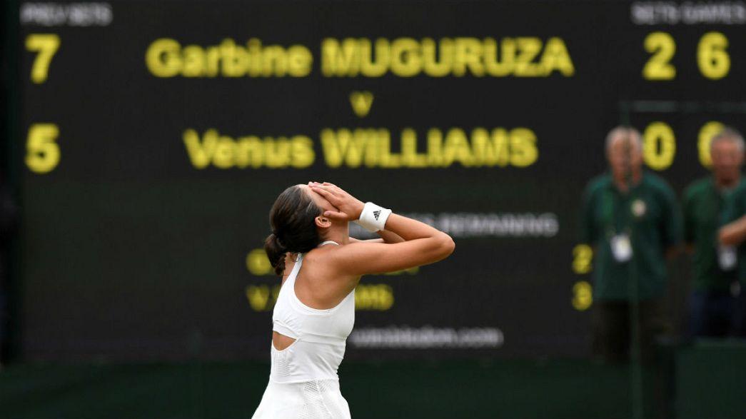 Venus Williams battuta nella finale di Wimbledon dalla spagnola Garbine Muguruza Blanco