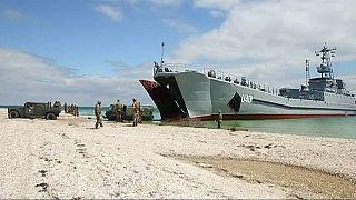 مناورات أطلسية أوكرانية في مياه البحر الأسود