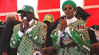 """Zimbabwe's first lady injures ankle in """"freak"""" car accident"""