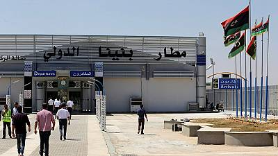 Libya's Benghazi airport opens after three-year closure