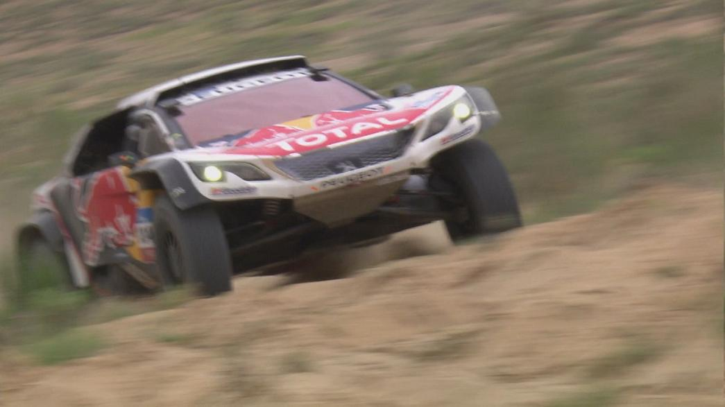 Silk Way Rally : Loeb et Sotnikov solides leaders