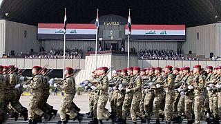 رژه نیروهای نظامی عراق در بغداد