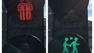 Bunte Vielfalt gegen Rechts - CSD 2017 in Frankfurt, München, Leipzig