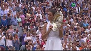 Muguruza beats Venus to win first Wimbledon title