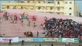 مرگ چند هوادار بر اثر ریزش دیوار استادیوم در سنگال
