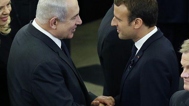 """نتنياهو في باريس لإحياء ذكرى """"فيل ديف"""""""