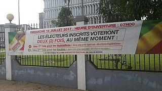 Congo-législatives : faible affluence à l'ouverture des bureaux de vote