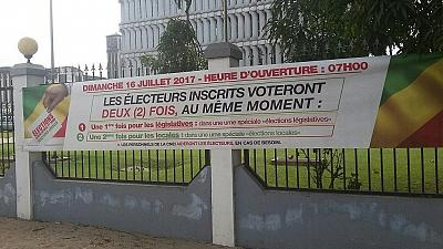 First round of legislative elections begins in Congo Republic