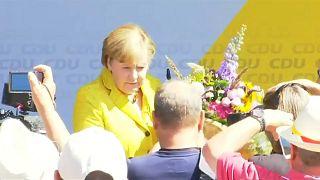 Merkel e Schulz querem uma Europa forte