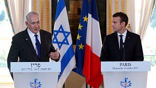 Macron defende necessidade de reatar as negociações israelo-palestinianas com vista a solução de dois estados