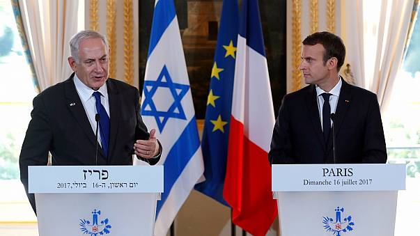Макрон и Нетаньяху почтили память погибших евреев