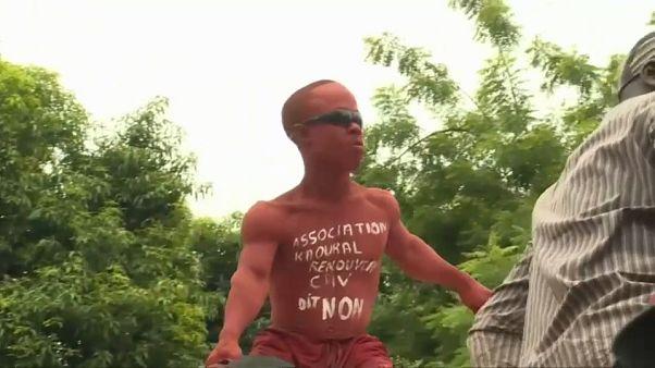 Demonstranten fürchten mehr Macht für Präsident Keita