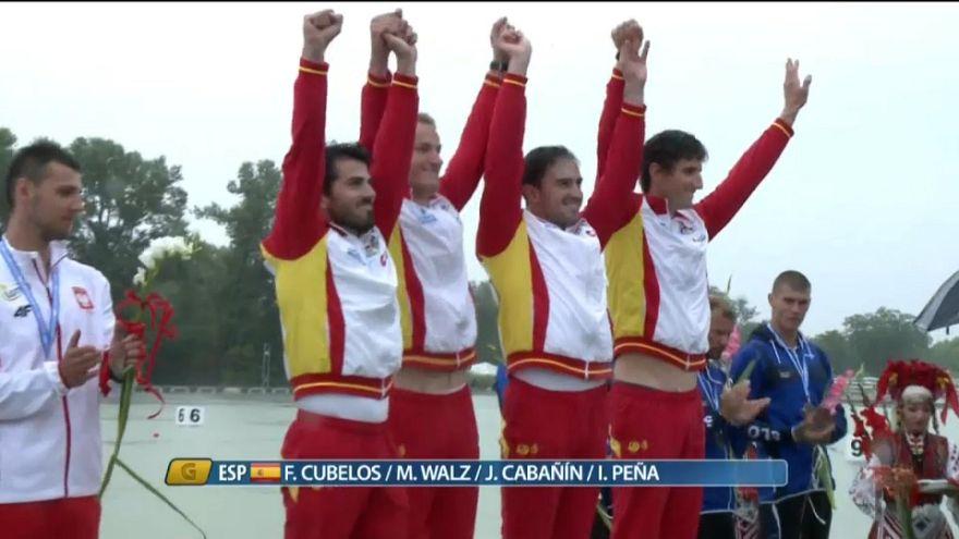 Primera medalla de oro para España en el europeo de piragüismo