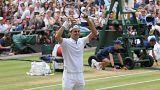 Восьмая победа Роджера Федерера на Уимблдоне