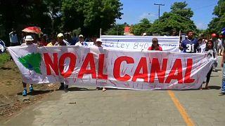 Nicaragua: Protest gegen Kanalbau-Projekt
