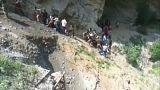 Автобус с паломниками сорвался в ущелье