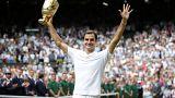 A vitória de Federer em Wimbledon teve mais do que um recorde
