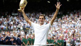 Roger Federer record breaker