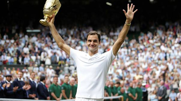 Federer hace historia en Wimbledon