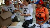 Woman shot dead in voting queue in Venezuela