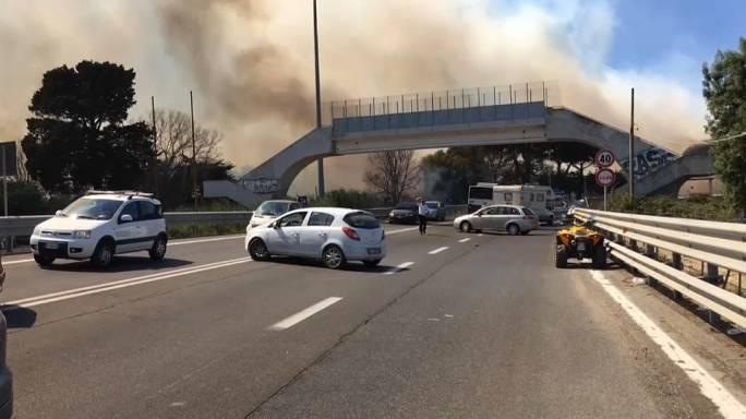 Incendies dans le sud de l'Europe