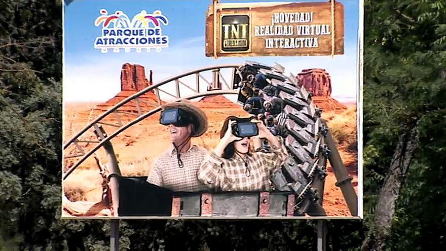 Accident de montagnes russes à Madrid
