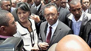 Madagascar's finance minister announced his resignation on Monday