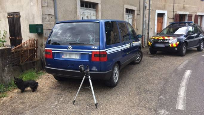 Frenchman creates fake speed trap to slow down motorists
