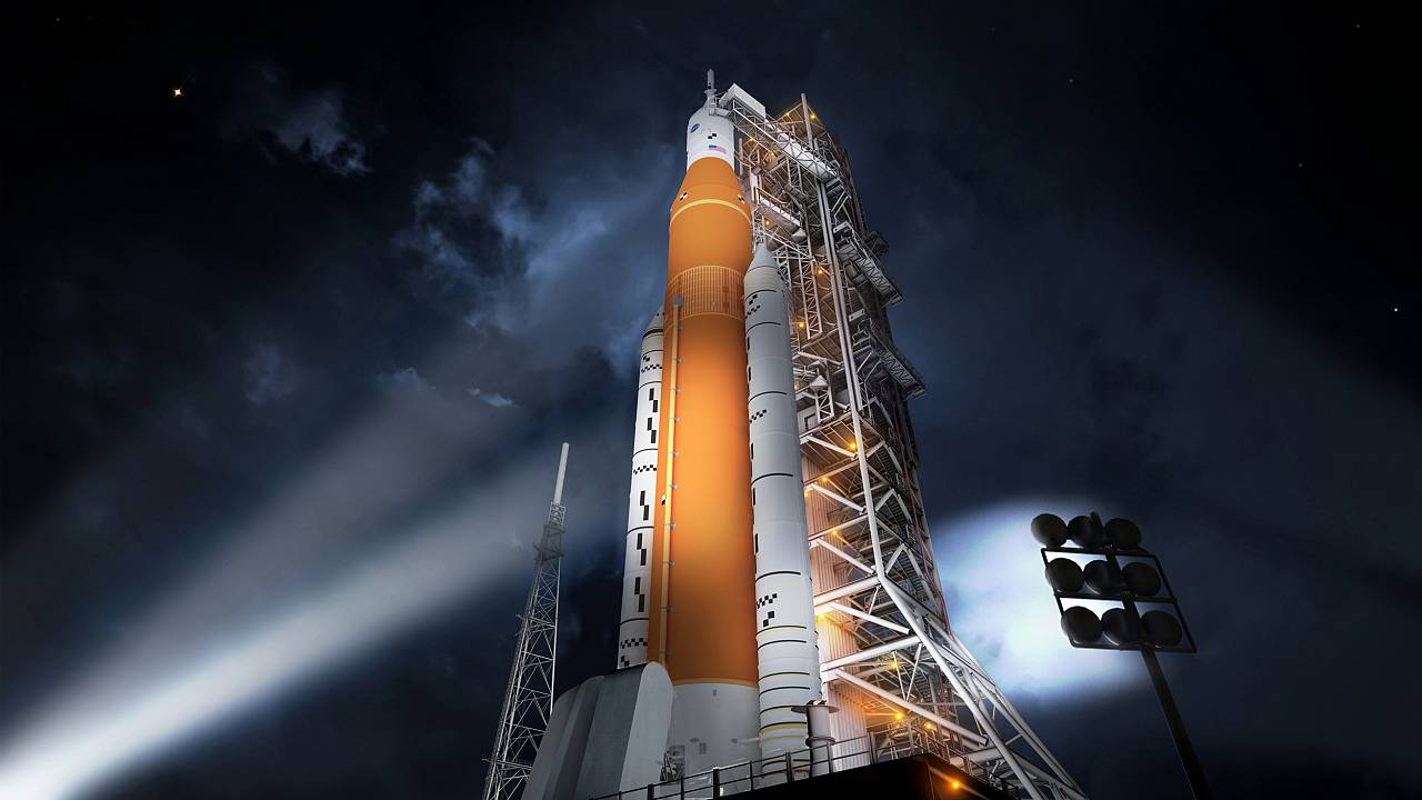 Image: Space Launch System