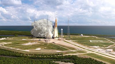 The Space Launch System is designed to send humans and 60,000 pounds of cargo to the moon and beyond.