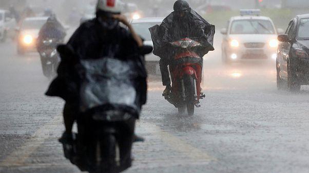 Тайфун «Талас» обрушился на Китай и Вьетнам