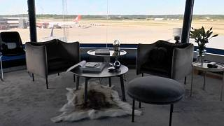 Stockholm Arlanda Airport renovates its disused control tower into the ultimate room with a view