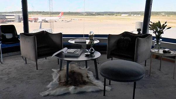 Σουηδία: Μείνετε στον πύργο ελέγχο του αεροδρομίου