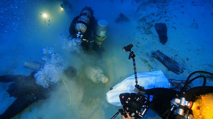8 Neue Schiffswracks in Griechenland entdeckt