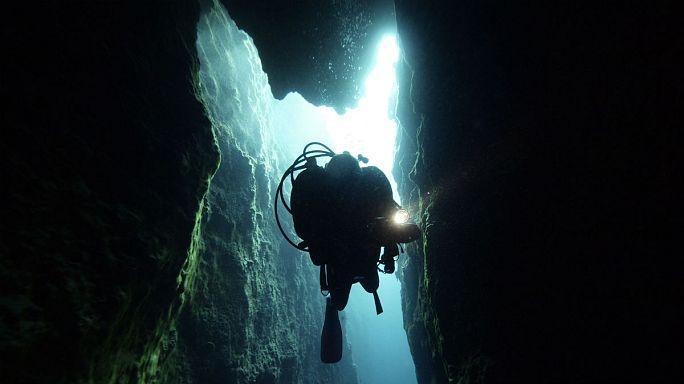 غواص گرفتار در غار دریایی پس از ۶۰ ساعت نجات پیدا کرد