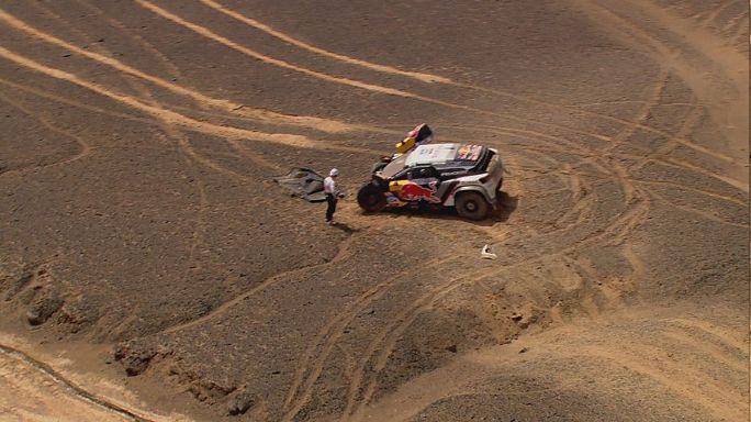 Acidente afasta Loeb da vitória no Rali Rota da Seda, Kamaz continuam a dominar nos camiões